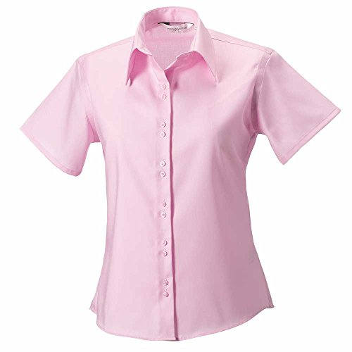 Shirt Iron Pink Non Russell Classic Ultimate Short Womens Sleeve naqvxw4YT