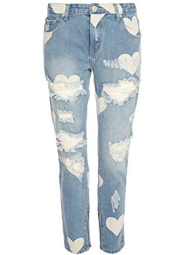 Attitude Clothing - Pantalón - para mujer Azul