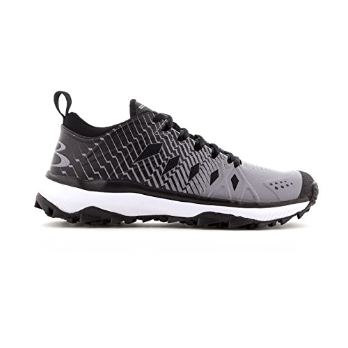 Boombah Men's Squadron Turf Shoes - 20 Color Options - Multiple Sizes Black/Gray with mastercard cheap price u140rcT8