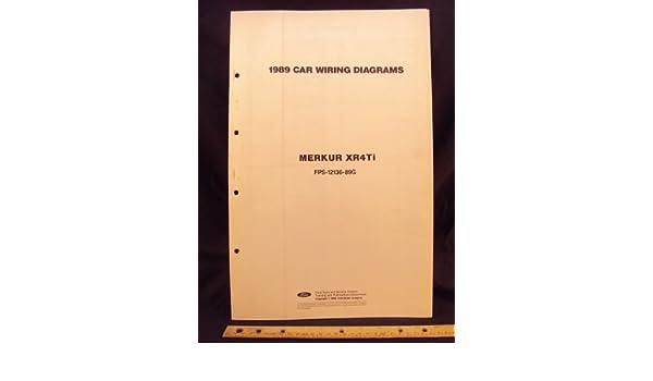 1989 Mercury Merkur Xr4ti Electrical Wiring Diagrams Schematics Rhamazon: 1988 Merkur Xr4ti Wiring Diagram At Cicentre.net