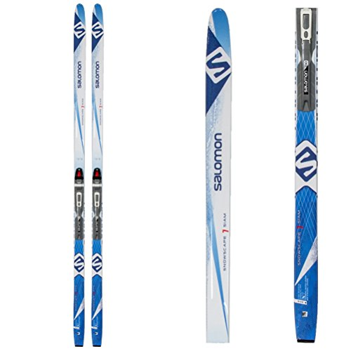 Salomon Snowscape 7 Siam Womens Cross Country Skis with Bindings 2017 - Medium/Black