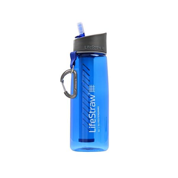 East Midlands Water Lifestraw® Go//Trinkflasche mit Wasser Filter//Entfernt% von Bakterien & 99,9% der Protozoen//Ideal…