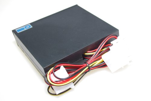 SMAKN® 3.5'' Pc Cpu Hdd 4 Channel Fan Speed Controller Control Led Cooling Front Panel by SMAKN (Image #1)'