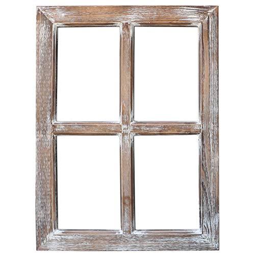 Original Design Primitive Window Frame, by Bushel Basket ...  Primitive Window Frame Decor