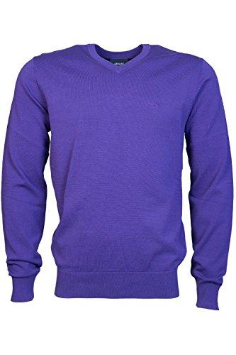 ARMANI JEANS Mens V Neck Knitwear 8N6MC7 6M11Z Size M - V-neck Jeans Armani