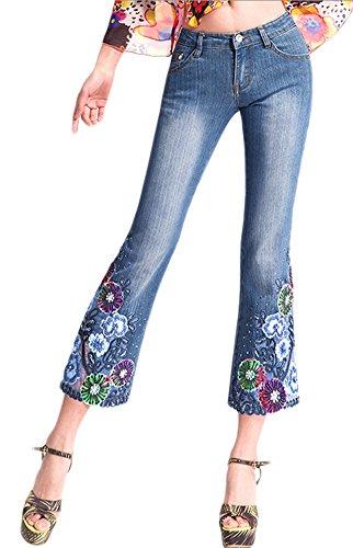 Blue 2 Bootcut Jeans - 5