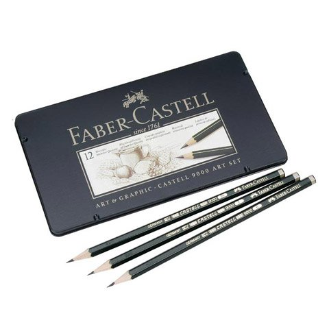 Bulk Buy: Darice DIY Crafts Faber-Castell 9000 Art Pencil Set 12 Different Black Lead Pencils (5-Pack) FC119065 by Darice