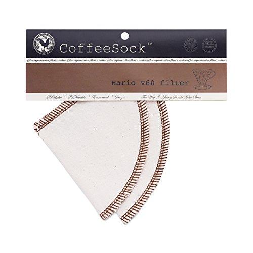 reusable cotton coffee filter - 9