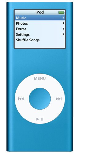 Apple iPod nano 4 GB 2nd Generation (Blue) (Discontinued ...