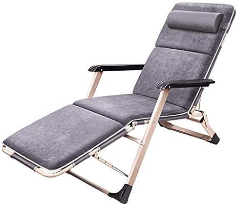 Sillas reclinables con tumbonas para Muebles de Exterior | Sillas Plegables de jardín | Silla reclinable Ajustable | Silla de Jardin Lado de la Piscina al Aire Libre Yarda Playa Patio Cámping: