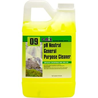 Nyco Products EM009-644 e.Mix pH Neutral General Purpose Cleaner, 64-Ounce Bottle (Case of 4)