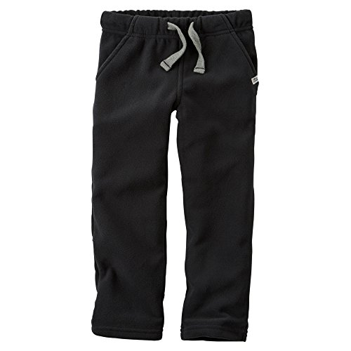 Carters Fleece Sweatpant (Carter's Little Boys Fleece Sweatpants (8K, Black))