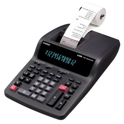 Casio Compact Desktop Printing Calculator by Casio