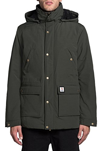 Jacket Hood Long Giaccone Military Franklin Marshall Colore Uni And Zip 0zzY1n