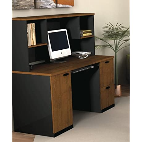 Credenza Hutch In Sand Granite Charcoal Tuscany Brown Black