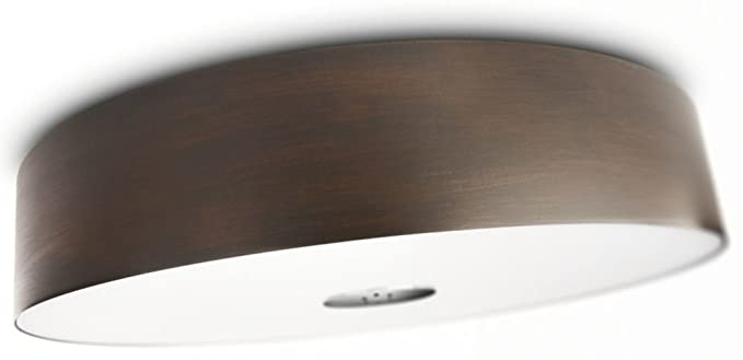 Philips 403401148 ecomoods energy efficient ceiling light chrome philips 403401148 ecomoods energy efficient ceiling light chrome and wood laminate aloadofball Choice Image