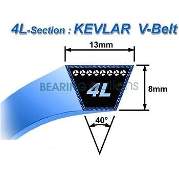 D/&D PowerDrive A-A94K made with Kevlar V Belt