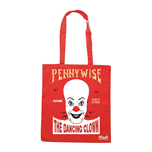 Borsa IT PENNYWISE THE DANCING CLOWN - Rossa - FILM by Mush Dress Your Style