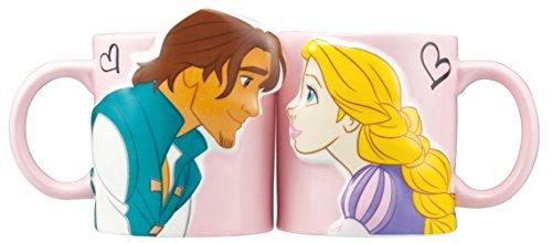 Disney Kiss (Disney kiss mug Rapunzel SAN2475 Tangled Princess Sunart Japan)