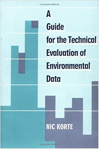 A Guide To The Technical Evaluation Of Environmental Data Nic Korte
