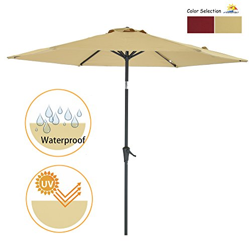 Patio Watcher Outdoor Market Umbrella