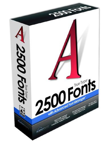 2500 TrueType Fonts [OLD VERSION] by Summitsoft