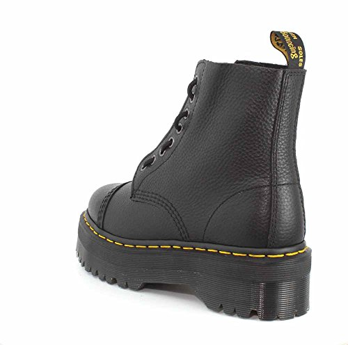 Dr Leather Black Sinclair Martens Womens Boots AqXr1Atnw