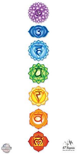 Peace Signs Graphics - Chakras Set of 7 - 4