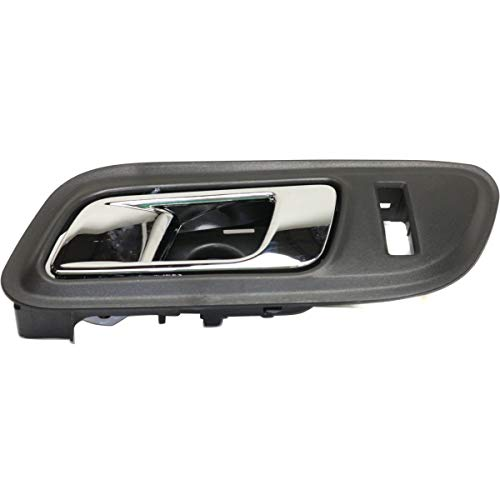 Interior Door Handle For 2010-2016 Ford Taurus Front Driver Side Plastic