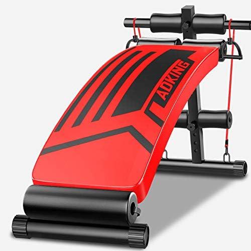折りたたみ式フィットネス腹筋マシン、多機能屋内家庭用フィットネス機器、クランチ腹筋運動腹部トレーニング用
