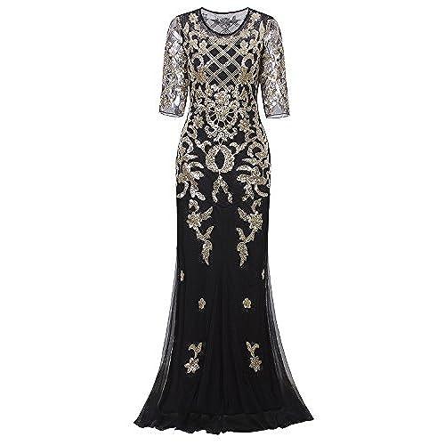 Black and Gold Wedding Dress: Amazon.com