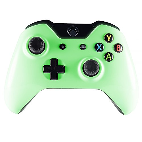 eXtremeRate-Glow-in-the-Dark-Faceplate-Front-Housing-Shell-Upper-Case-Top-Cover-Replacement-Parts-Mod-Kits-for-Microsoft-Xbox-One-Controller-35-mm-jack