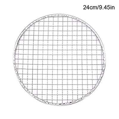 Yunhigh Slime Net Grid Stainless Steel Round Metal Net DIY Crystal Clay Dough Making Tool Slime Kit Accessory Kids Gift, 2 Pack: Toys & Games