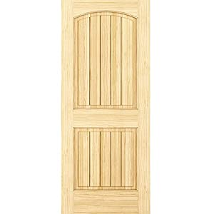 2 panel door interior door slab solid pine for 18x80 door