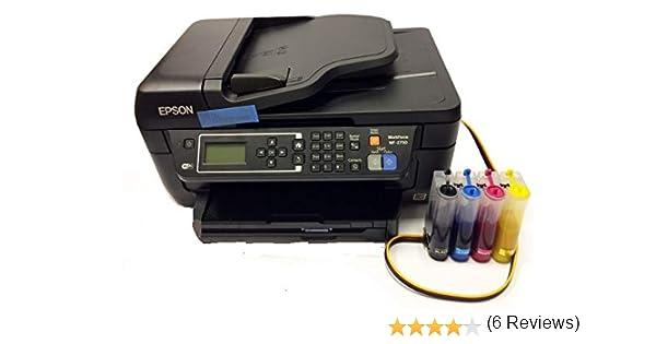 Dye Sublimation Epson WF-2750 Printer +CISS+ 400ml Ink+ 50 Transfer Sheets