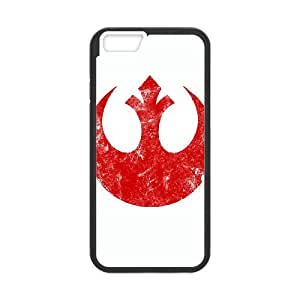 iPhone 6 Plus 5.5 Inch Cell Phone Case Black Rebel Alliance Logo YWU9331342KSL