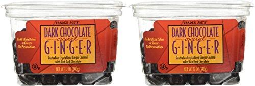 Trader Joe's Dark Chocolate Covered Ginger - 2 (Australian Crystallized Ginger)