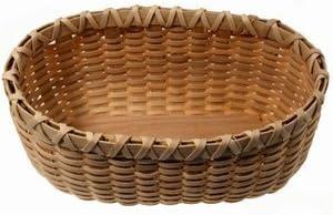 V.I Inc Reed /& Cane Bread Basket Weaving Kit Bread Basket Kit