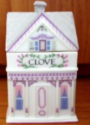 Lenox 'Spice Village' Porcelain Victorian House Spice Jar - Clove