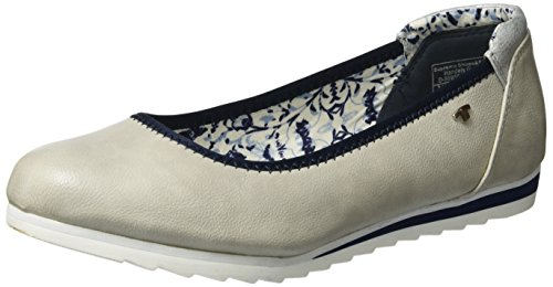Flats Closed Women's Tom Gray Toe 2790103 ice Tailor Ballet aYY7wx