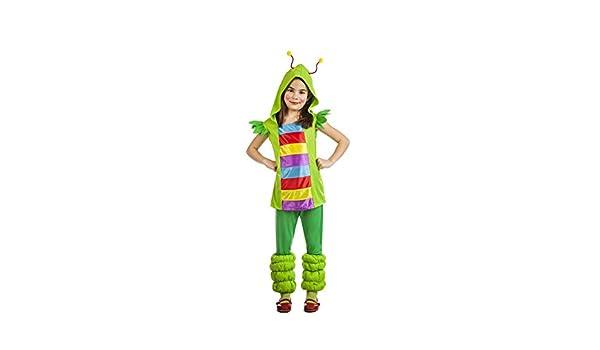 Disfraz de Gusanita Infantil (3-4 años): Amazon.es: Juguetes y juegos
