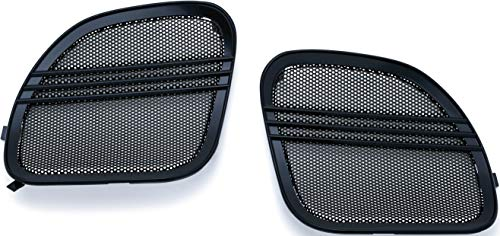 Except Tri Glide - Kuryakyn 7379 Tri-Line Speaker Grills with Aluminum Mesh Screen for 2015-19 Harley-Davidson Motorcycles: Gloss Black, Pack of 2