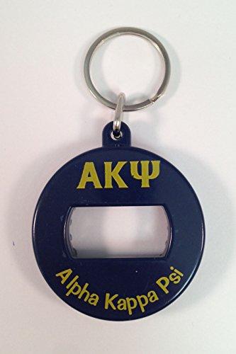 Alpha Kappa Psi Bev Key Bottle Opener Keychain (Greek Bottle Opener Keychain compare prices)