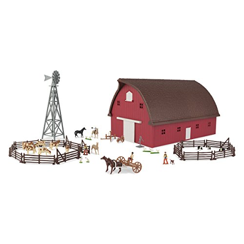 (John Deere 1/64 Farm Country Barn Gable Set)