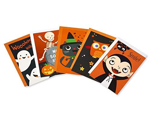 Halloween Greetings For Grandchildren (American Greetings Halloween Card Bundle for Kids, Variety)