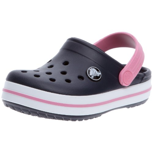 UPC 883503608757, Crocs Kids Crocband Clog (Toddler/Little Kid),Navy/Pink Lemonade,1 M US Little Kid/ 3 M US Women's