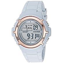 Armitron Sport Women's 45/7045PBL Rose Gold-Tone Accented Digital Powder Blue Resin Strap Watch