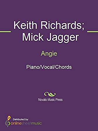 Angie Kindle Edition By Keith Richards Mick Jagger The Rolling