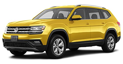 2018 Volkswagen Atlas 2.0T S, Front Wheel Drive, Kurkuma Yellow...
