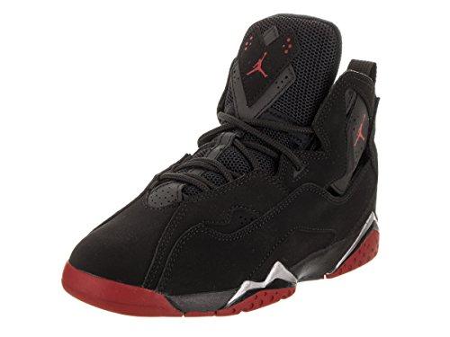 Jordan Kids True Flight BP Black Gym Red Metallic Silver Size 12